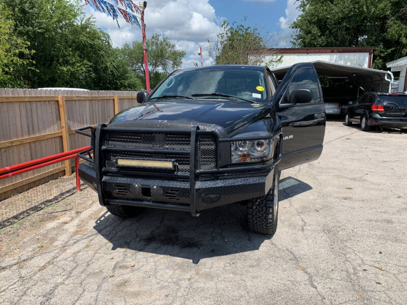 2008 Dodge Ram Pickup 1500 for sale at BULLSEYE MOTORS INC in New Braunfels TX