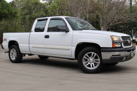 2004 Chevrolet Silverado 1500 for sale at SELECT JEEPS INC in League City TX