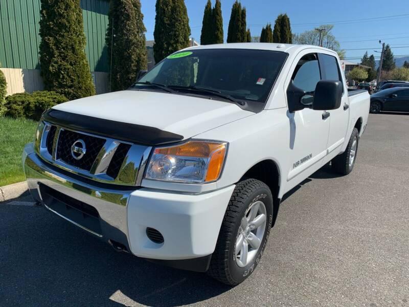 2014 Nissan Titan for sale at AUTOTRACK INC in Mount Vernon WA