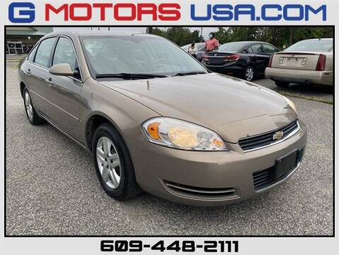 2007 Chevrolet Impala for sale at G Motors in Monroe NJ