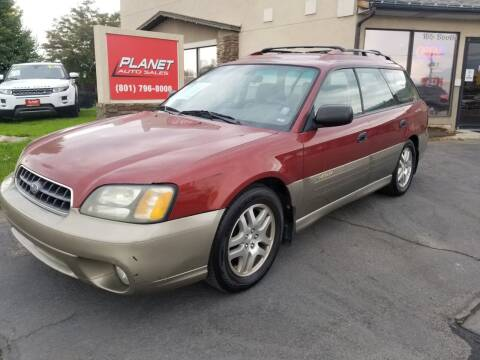 2003 Subaru Outback for sale at PLANET AUTO SALES in Lindon UT