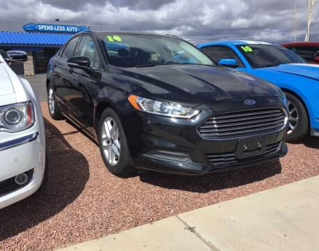 2015 Ford Fusion for sale at SPEND-LESS AUTO in Kingman AZ