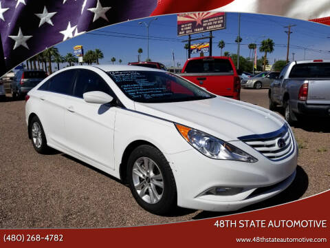 2013 Hyundai Sonata for sale at 48TH STATE AUTOMOTIVE in Mesa AZ