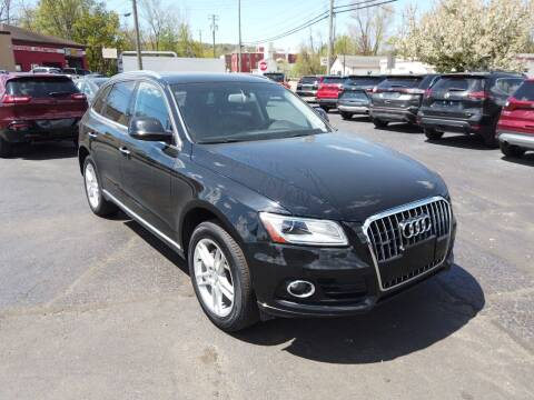 2016 Audi Q5 for sale at RS Motors in Falconer NY