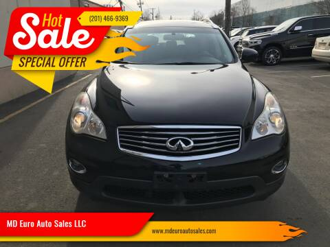 2010 Infiniti EX35 for sale at MD Euro Auto Sales LLC in Hasbrouck Heights NJ