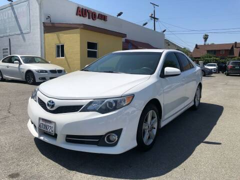 2012 Toyota Camry for sale at Auto Ave in Los Angeles CA
