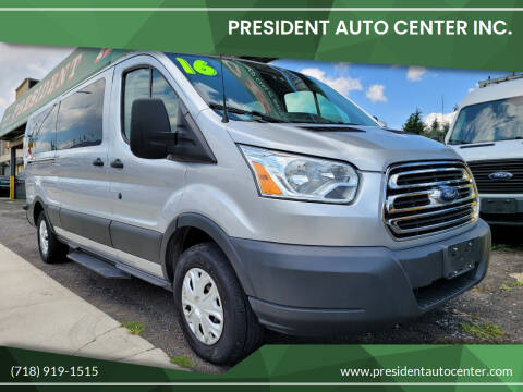 2016 Ford Transit Passenger for sale at President Auto Center Inc. in Brooklyn NY