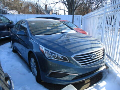 2016 Hyundai Sonata for sale at SOUTHFIELD QUALITY CARS in Detroit MI