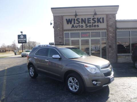 2010 Chevrolet Equinox for sale at Wisneski Auto Sales, Inc. in Green Bay WI
