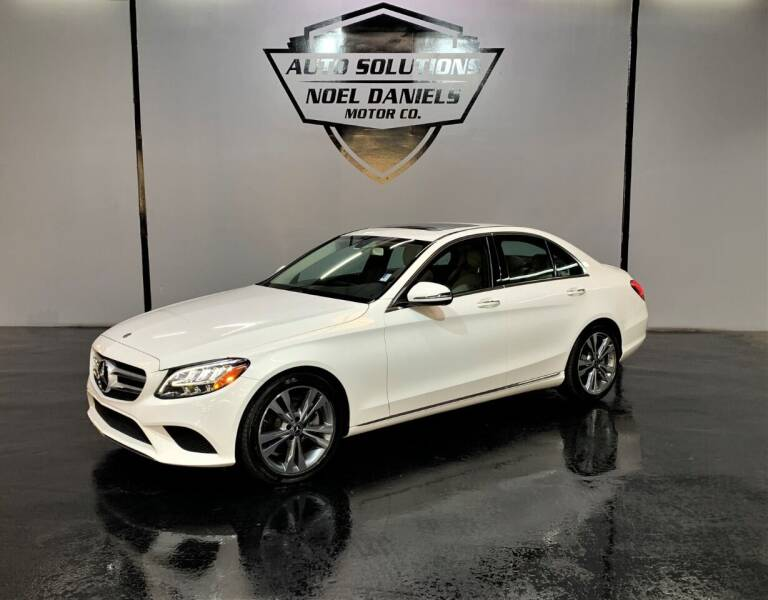 2019 Mercedes-Benz C-Class for sale at Noel Daniels Motor Company in Ridgeland MS