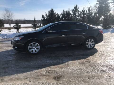 2010 Buick LaCrosse for sale at BLAESER AUTO LLC in Chippewa Falls WI
