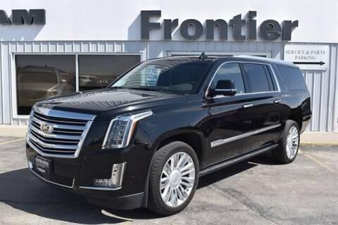 2018 Cadillac Escalade ESV for sale at Frontier Motors Automotive, Inc. in Winner SD
