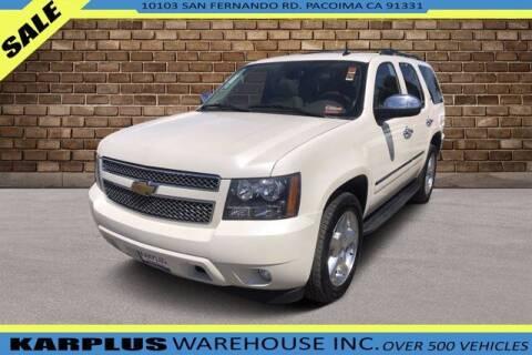 2013 Chevrolet Tahoe for sale at Karplus Warehouse in Pacoima CA