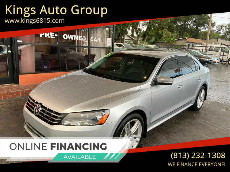 2015 Volkswagen Passat for sale at Kings Auto Group in Tampa FL