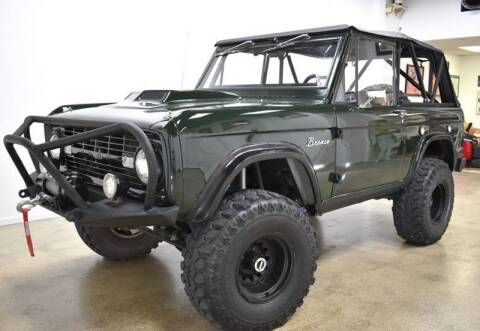 1966 Ford Bronco for sale at Thoroughbred Motors in Wellington FL