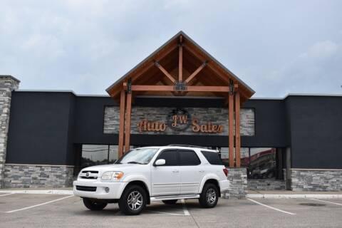 2006 Toyota Sequoia for sale at JW Auto Sales LLC in Harrisonburg VA