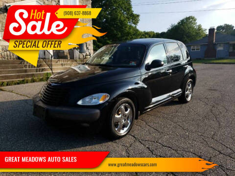 2001 Chrysler PT Cruiser for sale at GREAT MEADOWS AUTO SALES in Great Meadows NJ