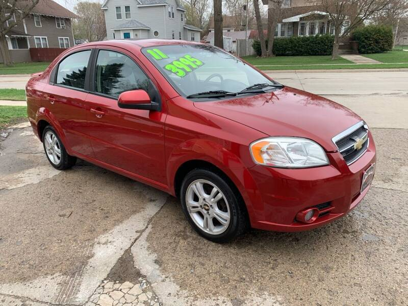 2011 Chevrolet Aveo for sale at BROTHERS AUTO SALES in Hampton IA