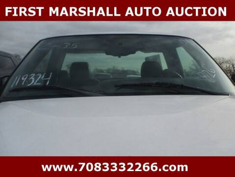 2005 Chevrolet Silverado 1500 for sale at First Marshall Auto Auction in Harvey IL