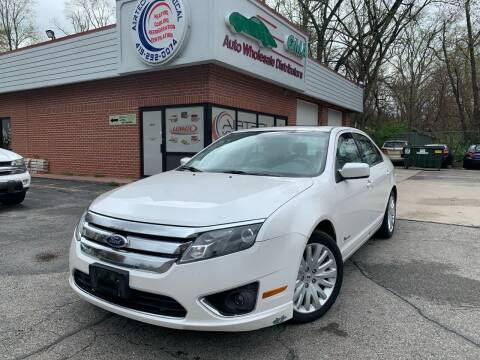2012 Ford Fusion Hybrid for sale at GMA Automotive Wholesale in Toledo OH