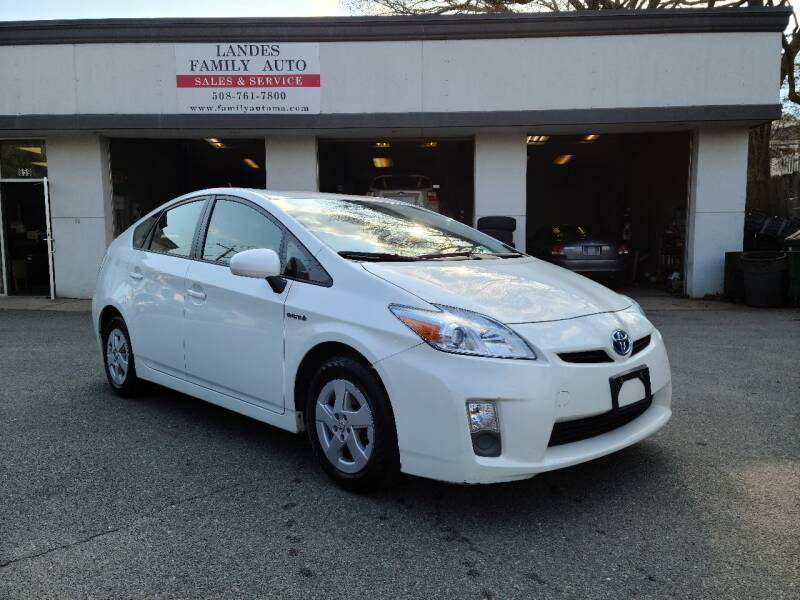 2010 Toyota Prius for sale at Landes Family Auto Sales in Attleboro MA