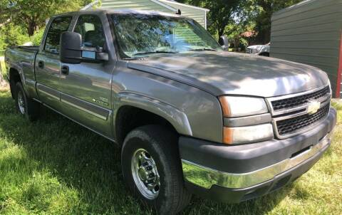 2006 Chevrolet Silverado 2500HD for sale at Creekside Automotive in Lexington NC