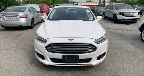 2013 Ford Fusion Hybrid for sale at Auto Mart in North Charleston SC