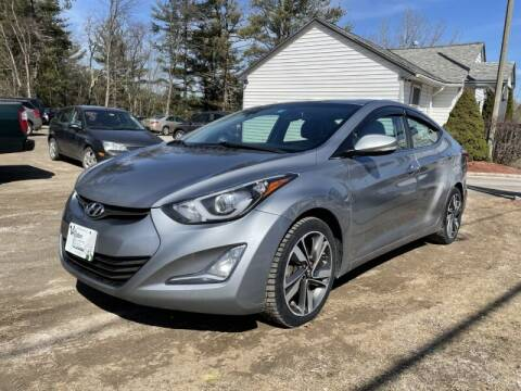 2015 Hyundai Elantra for sale at Williston Economy Motors in Williston VT