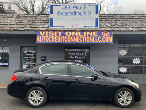 2011 Infiniti G37 Sedan for sale at Auto Credit Connection LLC in Uniontown PA