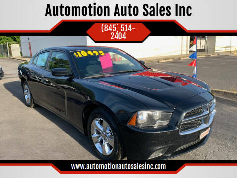 2014 Dodge Charger for sale at Automotion Auto Sales Inc in Kingston NY