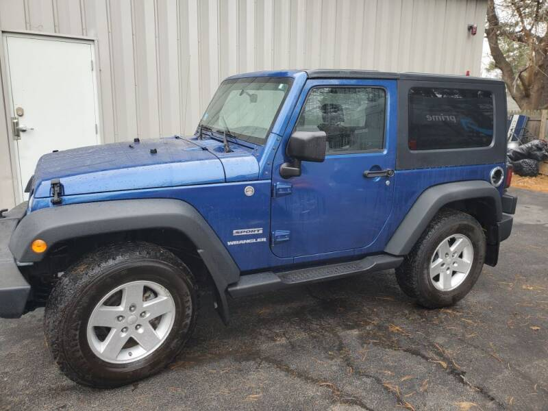 2010 Jeep Wrangler for sale at Stellar Motor Group in Hudson NH