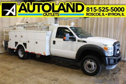 2012 Ford F-550 Super Duty for sale at AutoLand Outlets Inc in Roscoe IL