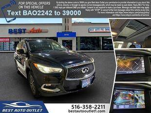 2017 Infiniti QX60 for sale at Best Auto Outlet in Floral Park NY