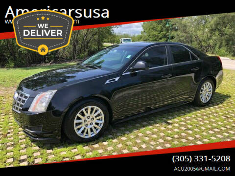 2012 Cadillac CTS for sale at Americarsusa in Hollywood FL