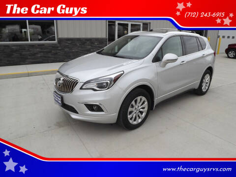 2017 Buick Envision for sale at The Car Guys in Atlantic IA