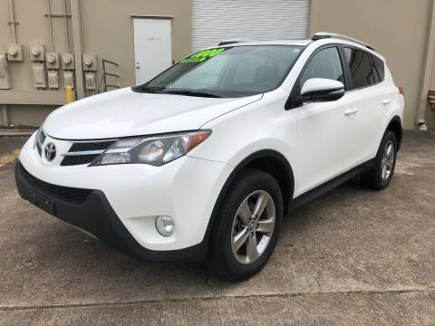 2015 Toyota RAV4 for sale at The Auto & Marine Gallery of Houston in Houston TX