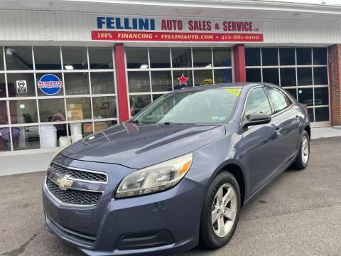 2013 Chevrolet Malibu for sale at Fellini Auto Sales & Service LLC in Pittsburgh PA