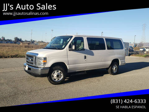 2013 Ford E-Series Wagon for sale at JJ's Auto Sales in Salinas CA