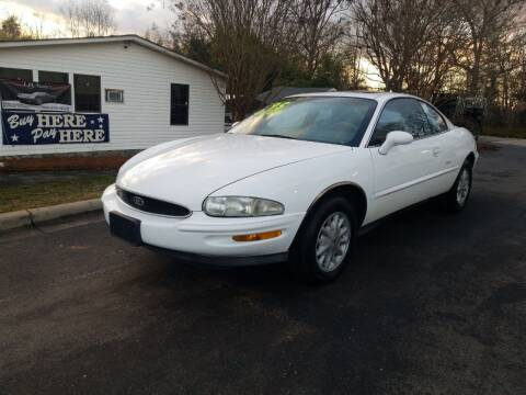 1995 Buick Riviera for sale at TR MOTORS in Gastonia NC