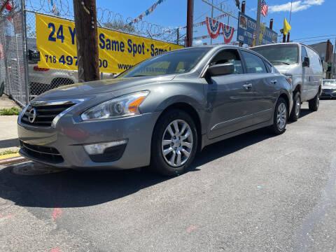 2015 Nissan Altima for sale at Cypress Motors of Ridgewood in Ridgewood NY