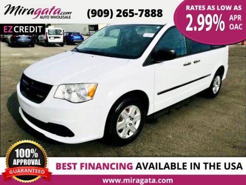 2013 RAM C/V for sale at Miragata Auto in Bloomington CA