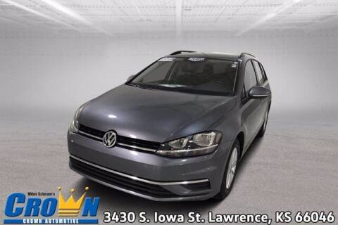 2019 Volkswagen Golf SportWagen for sale at Crown Automotive of Lawrence Kansas in Lawrence KS