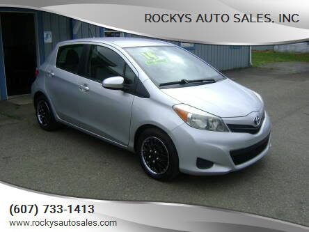2014 Toyota Yaris for sale at Rockys Auto Sales, Inc in Elmira NY
