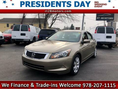 2009 Honda Accord for sale at RT28 Motors in North Reading MA