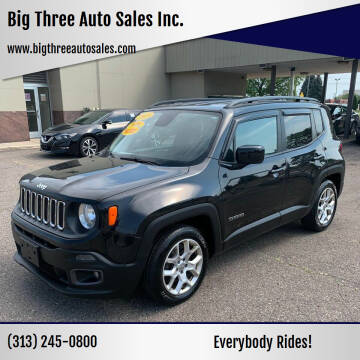 2015 Jeep Renegade for sale at Big Three Auto Sales Inc. in Detroit MI