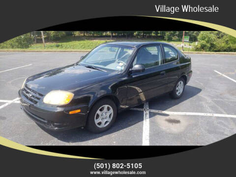 2003 Hyundai Accent for sale at Village Wholesale in Hot Springs Village AR