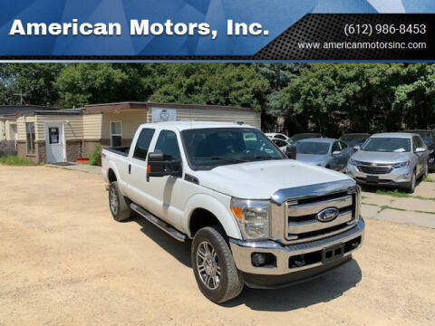 2015 Ford F-250 Super Duty for sale at American Motors, Inc. in Farmington MN