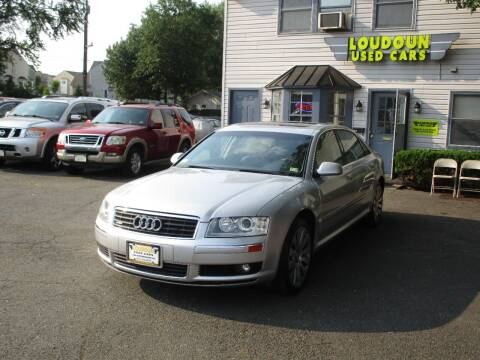 2005 Audi A8 L for sale at Loudoun Used Cars in Leesburg VA