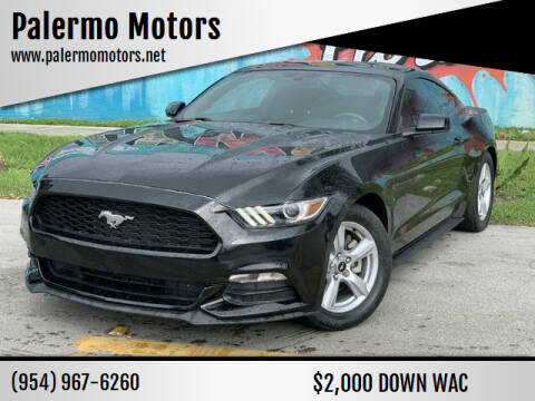 2017 Ford Mustang for sale at Palermo Motors in Hollywood FL