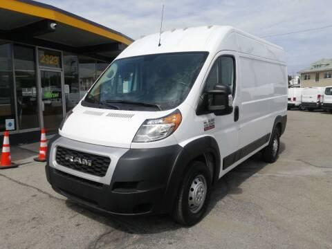 2020 RAM ProMaster Cargo for sale at Tillman Van Sales in Indianapolis IN